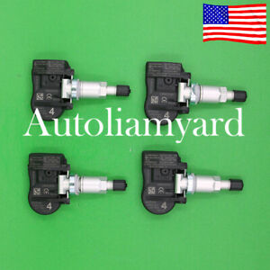 4pcs For 2014 Nissan X trail Tpms Tire Pressure Sensor 40700 3vu0a 433mhz New