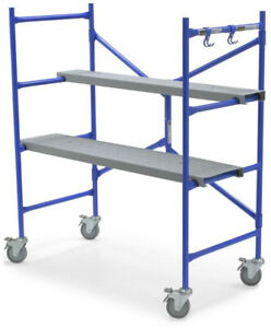 Werner Portable Rolling Scaffold 500 Lb Load Capacity Scaffold Frame Tower New