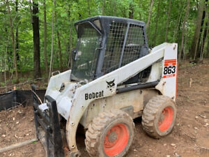 2010 Bobcat 863g Skid Steer Loader W Cab Only 3400 Hours Coming Soon
