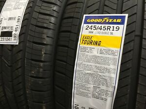 New Goodyear Eagle Touring 245 45r19 98w All Season Traction Performance Tires