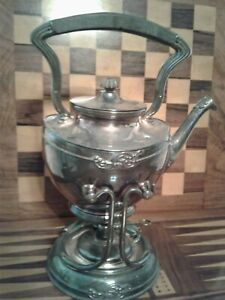 Victorian Tilting Teapot On Stand American