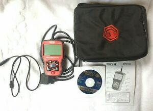 Matco Mps700 bosch Obdii And Abs Scan Tool Live Data Monitor W Manual Cd Case