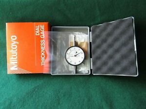 Mitutoyo 2412f 7300 Dial Drop Indicator For Dial Thickness Gage 001 Grad New