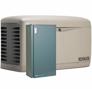 Kohler 20kw Stationary Back up Power Generator Lp Natural Gas 200a Ats 20rescl