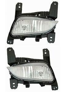 Fit Buick Encore 2017 2019 Right Left Fog Lights Driving Bumper Lamps Capa Pair
