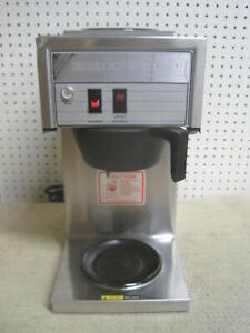 Bloomfield Bunn Koffee King Brewer Maker Machine 8543 Commercial Warmer Filter