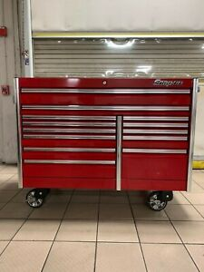 Snap On Tool Box 60 13 Drawer Double Bank Epiq Series Candy Apple Red Ken60