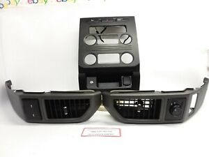 2016 2017 2018 Ford F350 Super Duty Truck Center Dash Vents And Radio Trim Bezel