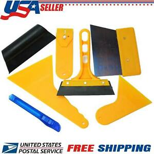 Car Window Tint 7 Tool Kit Auto Film Squeegee Scraper Application Installation