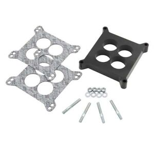 Mr Gasket 3404 Holley Edelbrock 1 4 Hole Phenolic Carb Spacer