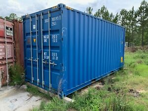 20ft High Cube Steel Shipping Container Ocean Container 20