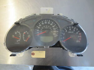 Grd215 Gauge Cluster Speedometer Assembly 2005 Subaru Forester 2 5 85013sa010