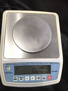 Citizen Scale Ct 1202 Ct Series Compact Precision Balance Scale Capacity 1200
