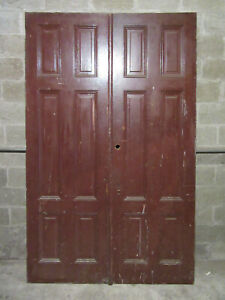 Antique Double Entrance French Doors 60 X 95 Architectural Salvage