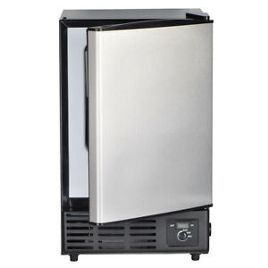 Smad Built in Commercial Ice Maker Undercounter Freestanding Ice Cube Machine