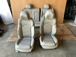 Cadillac Sedan Cts 2014 2018 Oem Set Front Rear Leather Interior Seat Seats 55k