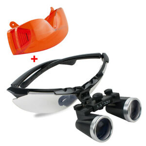 3 5x320mm Dental Binocular Loupes Working Distance Surgical Medical Glasses gift