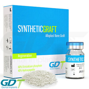 Synthetic Bone Graft Material Granules Sterile Package Gdt Dental Implant