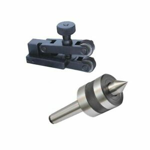 V Clamp Knurling Tool 5 To 20 Mm With Revolving Live Center Mt1 Mounting Shank S