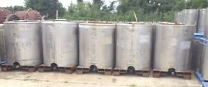 300 330 Gallon Stainless Steel Portable Ibc Tanks totes By Custom Metalcraft