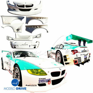 Frp Gtr Wide Body Kit 8pc 3dr Coupe For Bmw Z4 M E86 06 08 Modelodrive