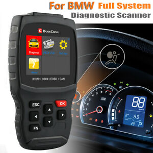 Full System For Bmw Scanner Diagnostic Tool Abs Sas Tpms Dpf Epb Oil Reset Tool