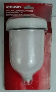 Husky 600 Cc Replacement Gravity Feed Spray Gun Paint Cup