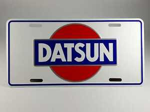 Datsun Embossed Auto License Plate Standard Size 11 75 Wide X 6