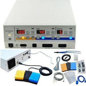 Us 300w Electrosurgical Unit Leep Diathermy Cautery Machine Dhl Fast Ship Fda Ce
