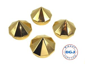 Bullet Gold Knock off Spinner Cap For Lowrider Wire Wheels