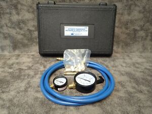 Tool Aid 34580 Automatic Transmission Engine Oil Pressure Tester W Two Gauges