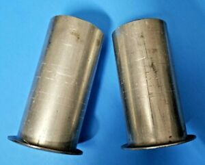 2 5 Header To 2 5 Od Aluminized Cone Gasket Style Collector Reducers Made Usa