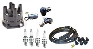 John Deere 3010 3020 Distributor Tune Up Kit With Usa Copper Spark Plug Wires