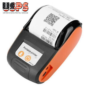 58 Mm 110 240v Thermal Printer Receipt For Ios android Bluetooth Wireless