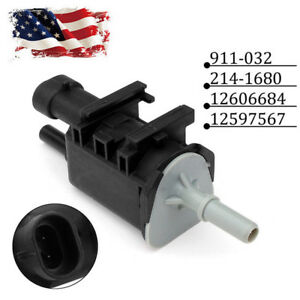 12597567 New For Buick Gmc Emisson System Vapor Canister Purge Valve Solenoid Us