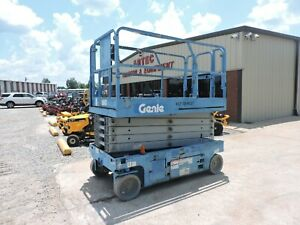 2013 Genie Gs3246 Scissor Lift Electric Watch Video Only 280 Hours