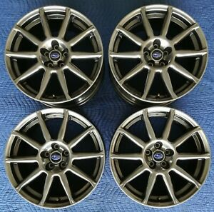 Subaru Brz Performance Package Oem 17 Wheels Frs 86 Excellent Condition