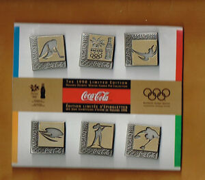 1998-99 Coca Cola Olympic Pin set