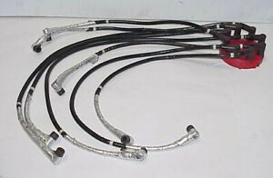 8 Delphi 8 8 Mm Ignition Spark Plug Wires 90 Boots W Heat Insulation