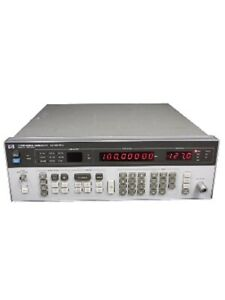 Hp 8656b Synthesized Rf Signal Generator 1 990 Mhz Option 001