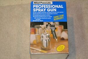 Vintage Allied Pneumatic Air Professional Spray Gun Set 30 Psg2 03631 New Sealed