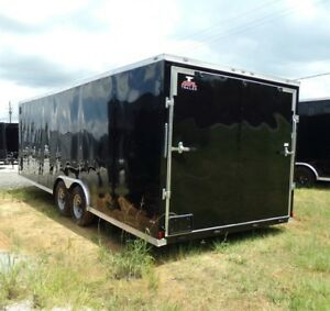 Brand New 8 5x24ta Anvil Enclosed Trailer Black With 5200 Axle