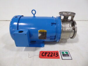 Goulds Pump 7 5 Hp 2 5 Inlet 1 5 Outlet Centrifugal Pump Cp2213 cp2213