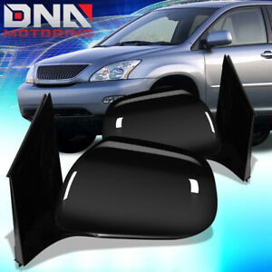 For 2004 2006 Lexus Rx330 Pair Oe Style Powered Heated Door Mirror Replacement