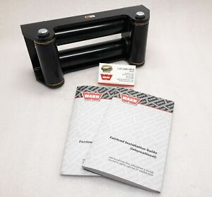 Warn 24335 Roller Fairlead Black For Zeon Vr Xd Others