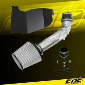 For 16 20 Honda Civic 2 0l Non Turbo Polish Cold Air Intake Stainless Filter