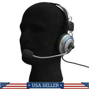 Male Styrofoam Foam Mannequin Manikin Head Model Wigs Glasses Hat Display Black