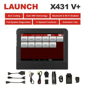 2019 Version Launch X431 V Scanpad Obd Diagnostic Scanner Tool For Ford Gm