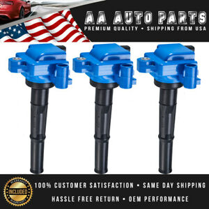 Set Of 3 High Performance Ignition Coil For Toyota Tundra Tacoma T100 4runner