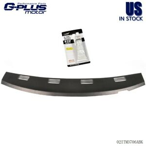 Molded Dash Cover Cap Overlay Black For 2002 2003 2004 2005 Dodge Ram Abs